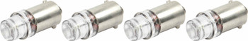 White LED Light Bulbs 4-Pack 61-698 Quickcar Racing Products