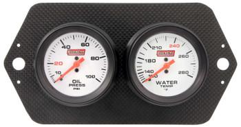 61-7004 Gauge Panel Pro Sprint Carbon Fiber Quickcar Racing Products