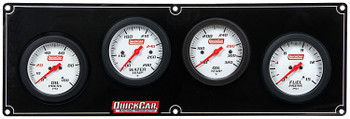 4 Gauge Extreme Panel 61-7021 Quickcar Racing Products