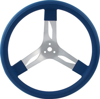 17in Steering Wheel Aluminum Blue 68-0022 Quickcar Racing Products