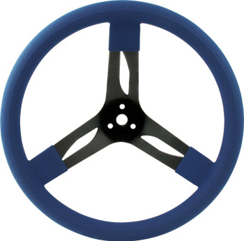 15in Steering Wheel Steel Blue 68-0032 Quickcar Racing Products