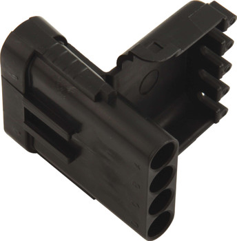 Male 4 Pin WeatherPack Connector 50-341 Quickcar Racing Products