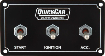 50-720 Extreme Ignition Panel (use with 50-200 or 50-201) Quickcar Racing Products