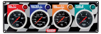 61-0301 4 Gauge Panel Quickcar Racing Products