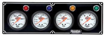 61-6721 4 Gauge Panel Black Quickcar Racing Products
