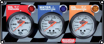 3 Gauge Panel 61-6011 Quickcar Racing Products