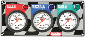61-6012 3 Gauge Panel Quickcar Racing Products