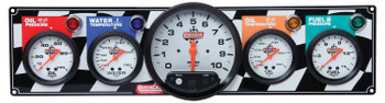 4 Gauge Panel w/ 5in Tach 61-6051 Quickcar Racing Products