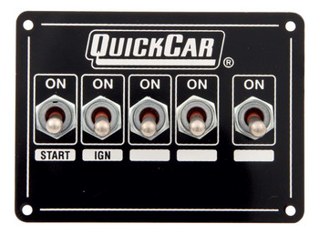 50-7711 Ignition Panel Dualing w/ X-Over & Acc. Quickcar Racing Products
