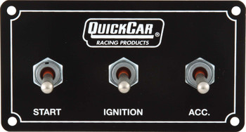 Extreme Dual Ignition 3 Switch Panel 50-711 Quickcar Racing Products