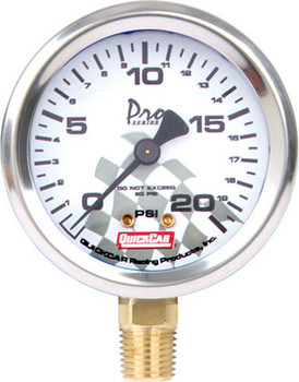 Tire Pressure Gauge Head 0-20 PSI 56-002 Quickcar Racing Products