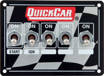 50-1714 Ignition Control Panel Single Box Dual Trigger Quickcar Racing Products