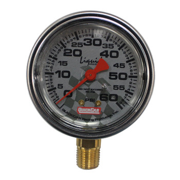 56-261 Tire Inflator 0-60 PSI Liquid Filled Quickcar Racing Products