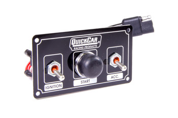 Black Plate, 2 Micro Switches & 1 Button 50-820 Quickcar Racing Products