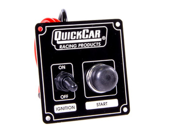 Black Plate, 1 Switch & 1 Button 50-802 Quickcar Racing Products