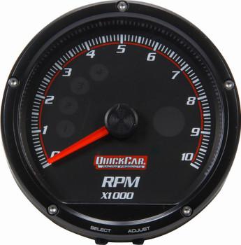 Redline Multi-Recall Tachometer Black 63-002 Quickcar Racing Products