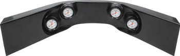 Extreme 4-Gauge Molded Dash Black 61-7724 Quickcar Racing Products