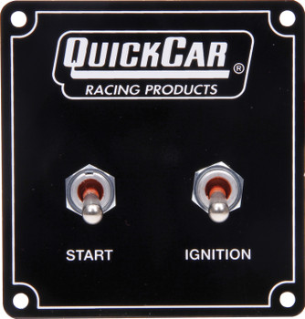 Extreme Single Ignition 2 Switch Panel 50-7531 Quickcar Racing Products