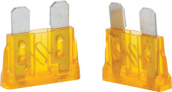 50-905 5 Amp ATC Fuse Tan 5pk Quickcar Racing Products