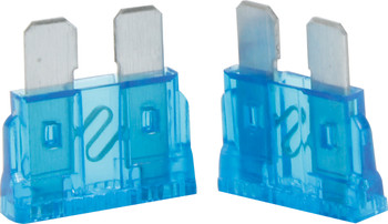 50-915 15 Amp ATC Fuse Blue 5pk Quickcar Racing Products