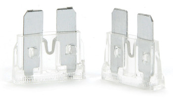 25 Amp ATC Fuse Clear 5pk 50-925 Quickcar Racing Products