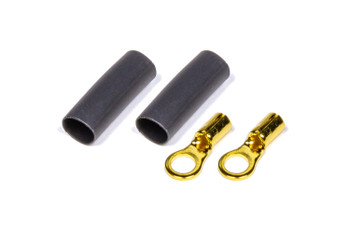 #6 Ring Terminal 22-16 Ga Pair with heat shrink 57-476 Quickcar Racing Products