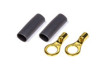 #10 Ring Terminal 22-16 Ga Pair with heat shrink 57-477 Quickcar Racing Products