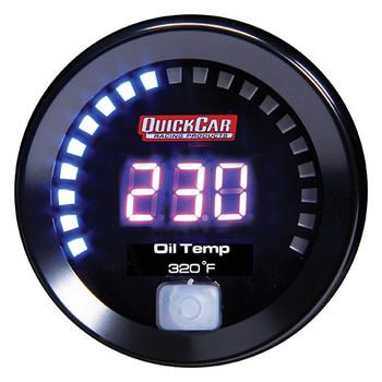 67-009 Digital Oil Temperature Gauge 100-320 Quickcar Racing Products