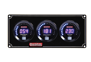 67-3011 Digital 3-Gauge Panel Quickcar Racing Products