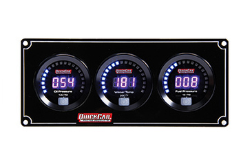 Digital 3-Gauge Panel 67-3012 Quickcar Racing Products