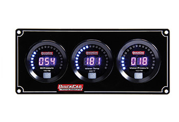 67-3016 Digital 3-Gauge Panel /WP Quickcar Racing Products