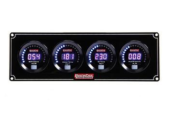 67-4021 Digital 4-Gauge Panel Quickcar Racing Products