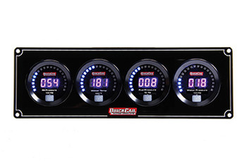 Digital 4-Gauge Panel /WP 67-4026 Quickcar Racing Products