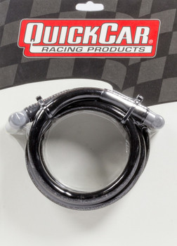 40-487 Coil Wire - Blk 48in HEI/Socket Quickcar Racing Products