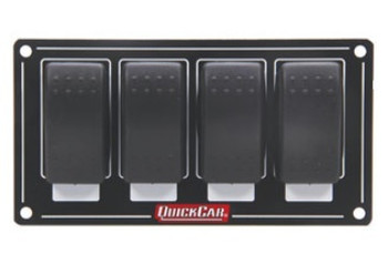 52-716 Accessory Panel 4 Switch Rocker Quickcar Racing Products