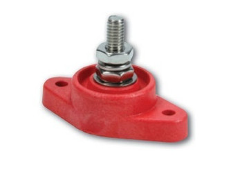 57-807 Power Distribution Block Red Single Post Quickcar Racing Products