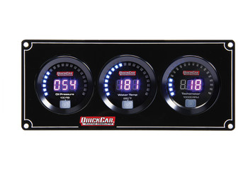 Digital 2-1 Gauge Panel OP/WT w/ Tach 67-2031 Quickcar Racing Products