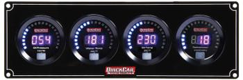 Digital 3-1 Gauge Panel OP/WT/OT w/ Tach 67-3041 Quickcar Racing Products