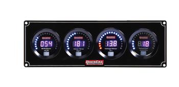 Digital 3-1 Gauge Panel OP/WT/Volt w/ Tach 67-3047 Quickcar Racing Products