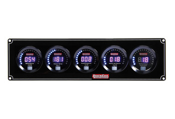 Digital 4-1 Gauge Panel OP/WT/FP/WP w/ Tach 67-4056 Quickcar Racing Products