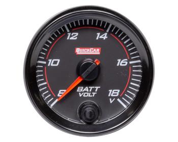 Redline Gauge Voltmeter 69-007 Quickcar Racing Products