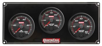 Redline 3 Gauge Panel OP/WT/WP 69-3016 Quickcar Racing Products