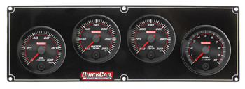 Redline 3-1 Gauge Panel OP/WT/OT w/ 2-5/8in Tach 69-3241 Quickcar Racing Products