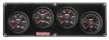 Redline 3-1 Gauge Panel OP/WT/Volt w/ 2-5/8in Tac 69-3247 Quickcar Racing Products