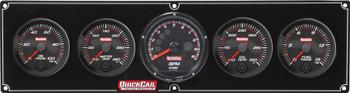 69-4051 Redline 4-1 Gauge Panel OP/WT/OT/FP w/ Recall Tac Quickcar Racing Products