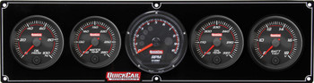 69-4057 Redline 4-1 Gauge Panel OP/WT/OT/Volt w/ Recall Quickcar Racing Products