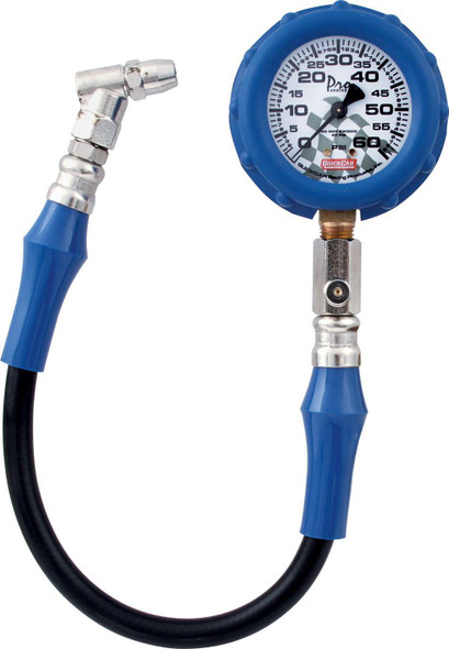 56-060 60-PSI Tire Pressure Gauge Quickcar Racing Products