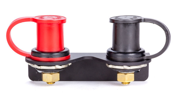 57-719 Battery Charging Posts Pair w/ Bent Mnt Brkt Quickcar Racing Products
