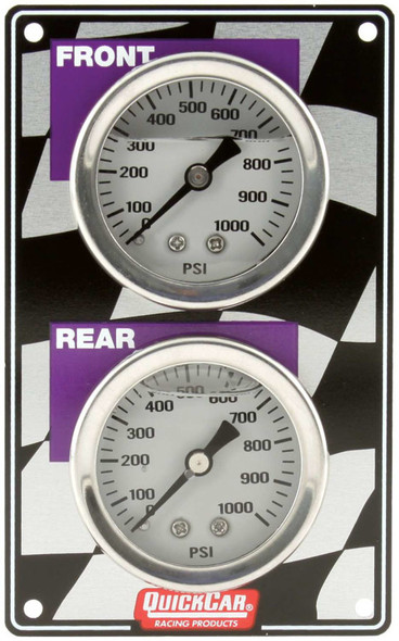 61-101 Mini Brake Bias Gauge Panel Vertical Quickcar Racing Products