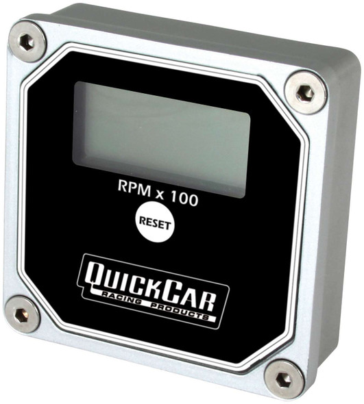 611-100 LCD Recall Tach Black Quickcar Racing Products